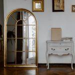 Spiegel zonder lijst veel goedkoper